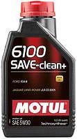 Масло моторное MOTUL 6100 Save-clean+ SAE 5W-30 1л (842311)