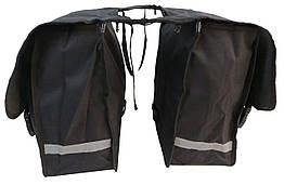 Велосипедная сумка, велоштаны 34 L Сrivit S061785 черный