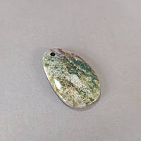 Кулон Моховый Агат (+-)33х52мм
