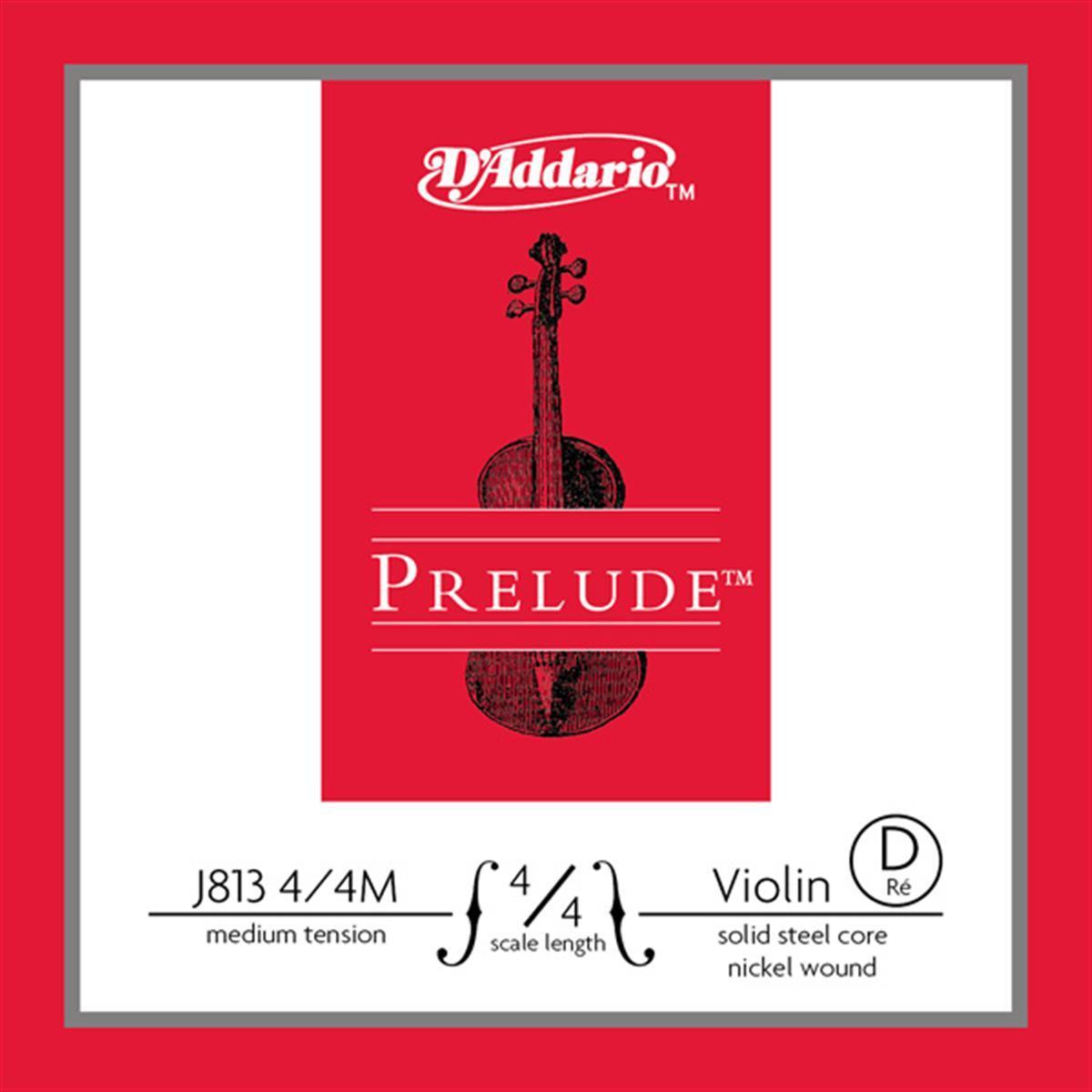Струны для смычковых D`ADDARIO J813 4/4M Prelude D 4/4M