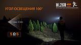 Ліхтар налобний Fenix HL26R чорний, фото 10