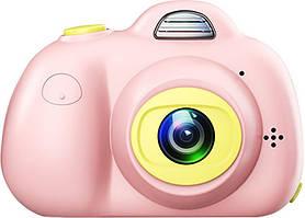 Цифровой фотоаппарат Upix Kids Camera SC02 Pink