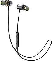 Наушники AWEI X680BL Bluetooth Dual Driver Earphone Black, фото 1