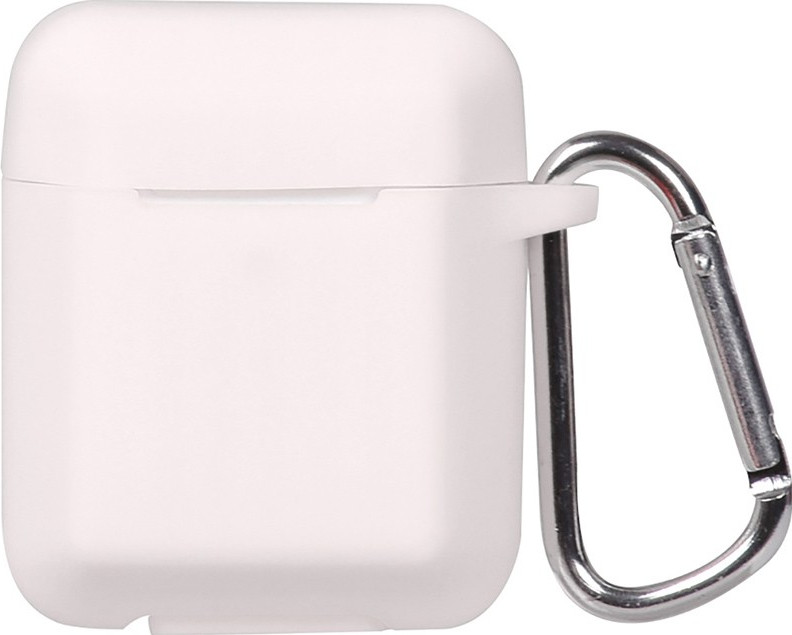 Кейс TOTO Plain Ling Angle Case AirPods White