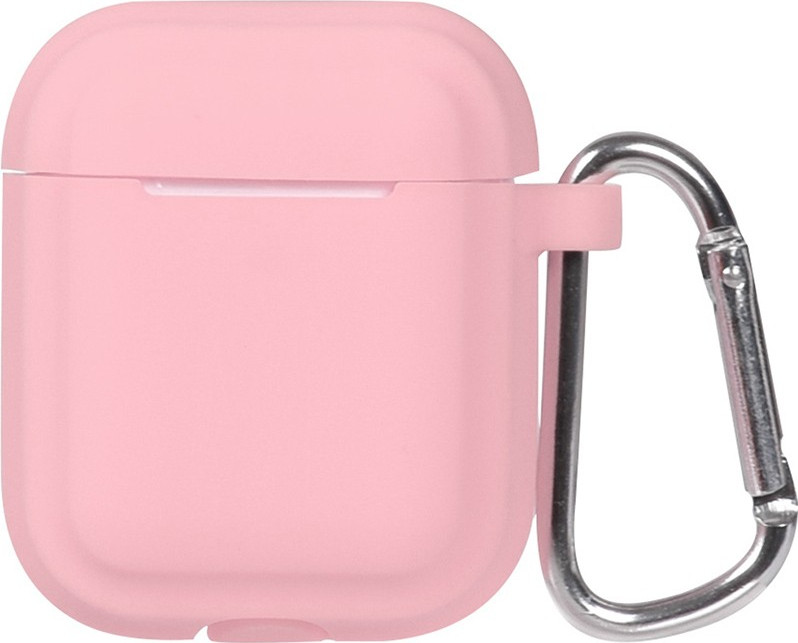 Кейс TOTO Plain Cover With Stripe Style Case AirPods Pink