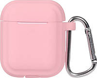 Кейс TOTO Plain Cover With Stripe Style Case AirPods Pink, фото 1