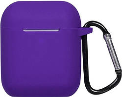 Кейс TOTO 2nd Generation Silicone Case AirPods Purple
