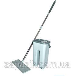 Самоочищающаяся Швабра Scratch Cleaning Mop 00081 Комплект Для Уборки Полов Швабра Лентяйка