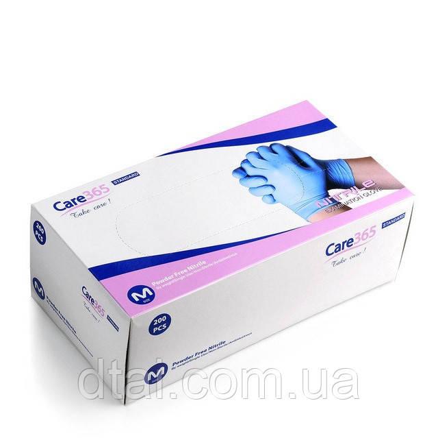 Перчатки нитриловые одноразовые смотровые (нестерильные), 200 шт/упак