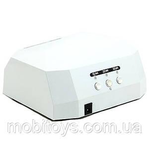 Гибридная лампа для гель лака LED + CCFL 36W Lamp Diamond Brilliant White