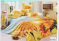 Комплект постельного белья ELWAY сатин 3D 175