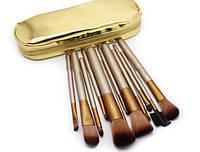 Кисти для макияжа 12 штук Naked2 + ЧЕХОЛ В ПОДАРОК!!!