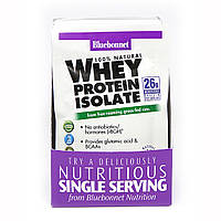 Изолят сывороточного белка, Микс Ягод, Whey Protein Isolate, Bluebonnet Nutrition, 8 пакетиков