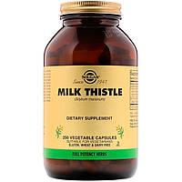 Расторопша, Milk Thistle, Solgar, 250 вегетарианских капсул