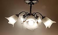 Потолочный светильник TINKO 2342CR/5HWT хром
