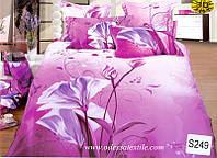 Комплект постельного белья  ELWAY сатин 3D 249