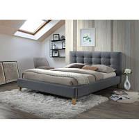 Полуторная кровать Signal Texas 140x200 серый (TEXAS140SZ)