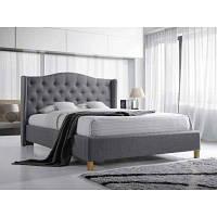 Полуторная кровать Signal Aspen 140x200 серый (ASPEN140SZD)