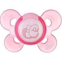 Пустышка Chicco Physio Comfort силиконовая 0-6 мес 1 шт розовая (74911.11)