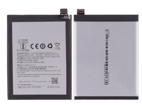 Аккумулятор (Батарея) для OnePlus 3T (A3010) BLP633 (3400 mAh), фото 2