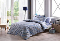 ТАС Digital евро комплект постельного белья сатин Ronny mavi