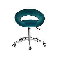 Кресло офисное Onder Mebli Holy Modern Office Бархат Зеленый В-1003