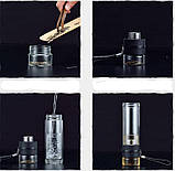 ✅ Заварник для чая  Термокружка с двойным стеклом Колба из боросиликатного стекла Инфузер для Чая 400 мл., фото 3