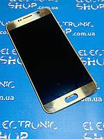 Модуль (сенсор , дисплей) Samsung Galaxy S6 G920F gold оригинал б.у.