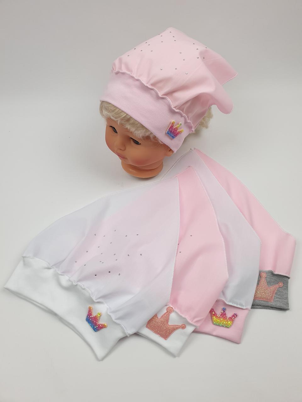 Детские банданы косынки для девочек, р.42-44, Польша (Ala Baby)