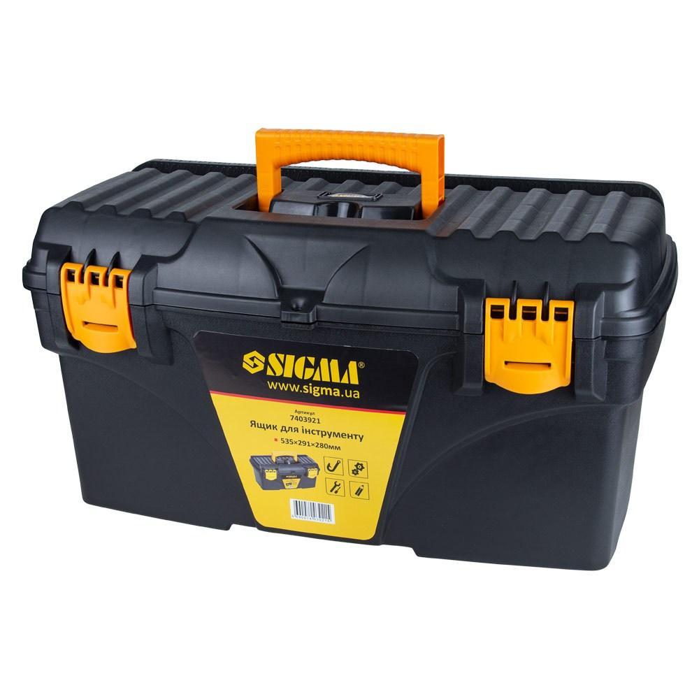 Ящик для інструменту 535×291×280мм Sigma (7403921)
