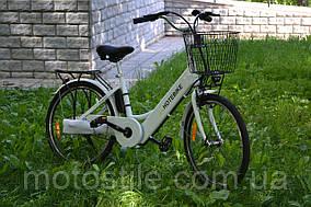 Электровелосипед HoteBike 350Вт АКБ36V10AH Белый