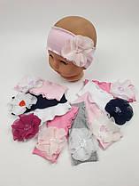 Повязки на голову детские для девочек, р.42, Польша (Ala Baby)