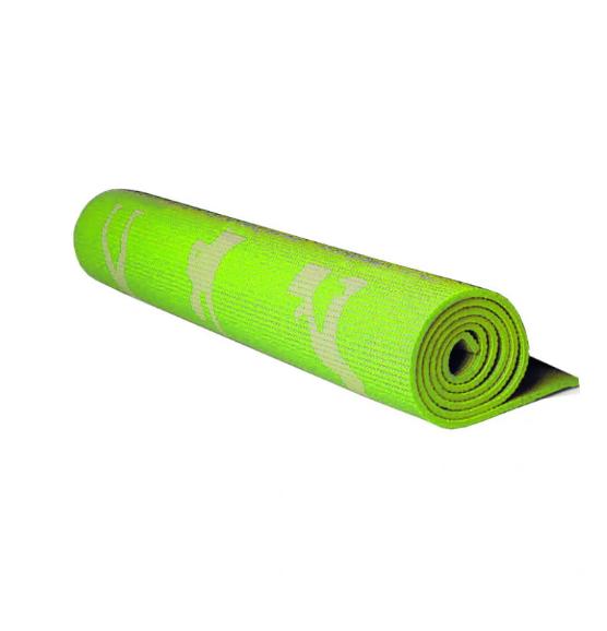 Йогамат, коврик для фитнеса и йоги (Зелёный)