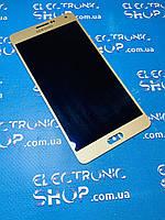Модуль (сенсор и дисплей) Samsung SM-A700H gold оригинал б.у.