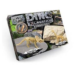 """Набор для проведения раскопок Danko Toys """"DINO EXCAVATION"""" динозавры (трицератопс, брахиозавр)(A3006)"""