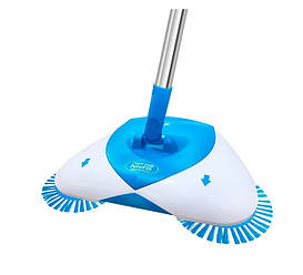 Механический чудо-веник Hurricane Spin Broom Blue (Б1009)