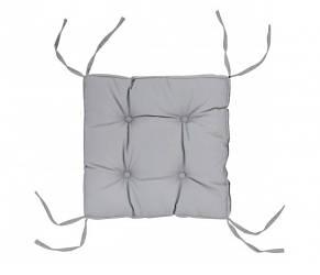 Подушка на стул DOTINEM COLOR серая 40х40 см (Я109)