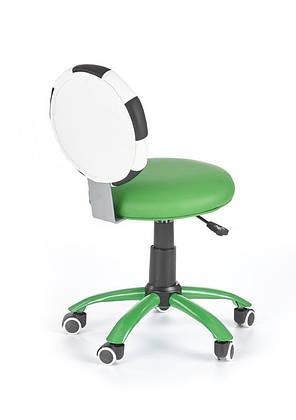 Кресло компьютерное  GOL зеленый, экокожа, фото 2