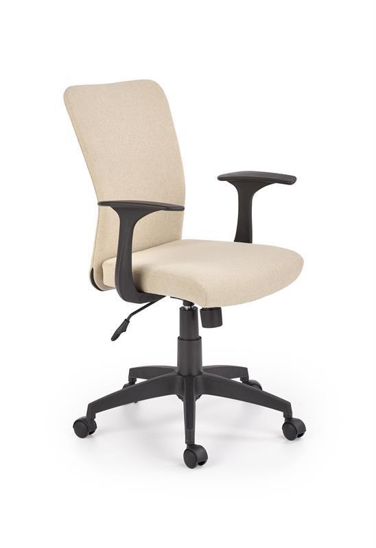 Кресло компьютерное  NODY бежевое, ткань