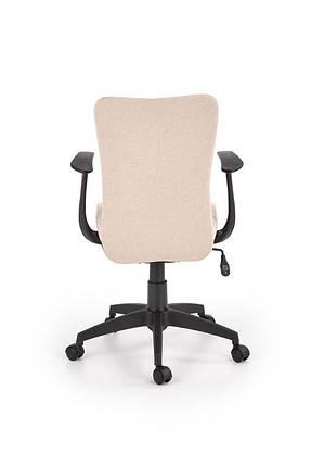 Кресло компьютерное  NODY бежевое, ткань, фото 2