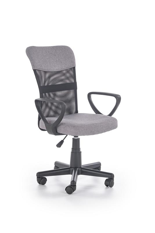 Кресло офисное  TIMMY серый, ткань