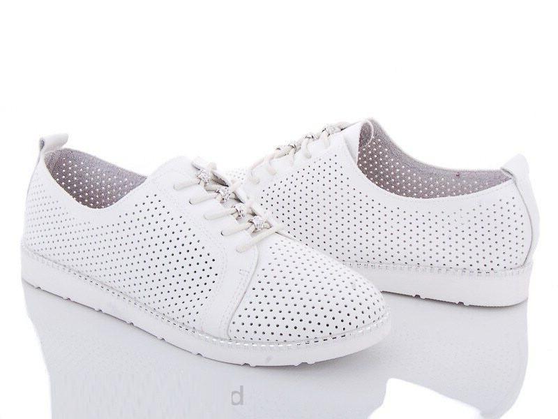 Комфортные летние туфли с перфорацией 40, 41