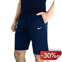 Шорты Nike Реплика XL Синий (shorts_kk_blue_nike 1/4)