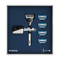 Подарочный набор Gillette Fusion5 ProShield Chill (бритва + 5 кассет + чехол) 9982