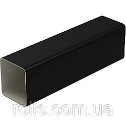 Труба водосточная 4м.п. Galeko PVC² 135/70×80 труба водостічна 4м.п. SQ080-_-RU400-G Черный