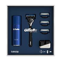 Подарочный набор Gillette Fusion5 ProGlide Flexball (бритва + 4 кассеты + гель + чехол) 6962