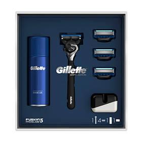 Подарунковий набір Gillette Fusion5 ProGlide Flexball (бритва + 4 касети + гель + чехол) 6962