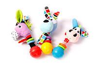 F 1006 М'яка іграшка-брязкальце для дітей