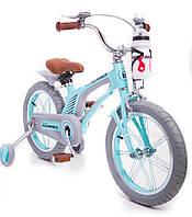 Детский легкий магниевый Велосипед Hammer Brilliant 16 дюймов от 5 лет легкий Мятный