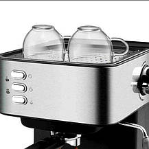 Кофемашина полуавтоматическая рожковая DSP KA3028 Кофеварка Espresso Coffee Maker с капучинатором, фото 3